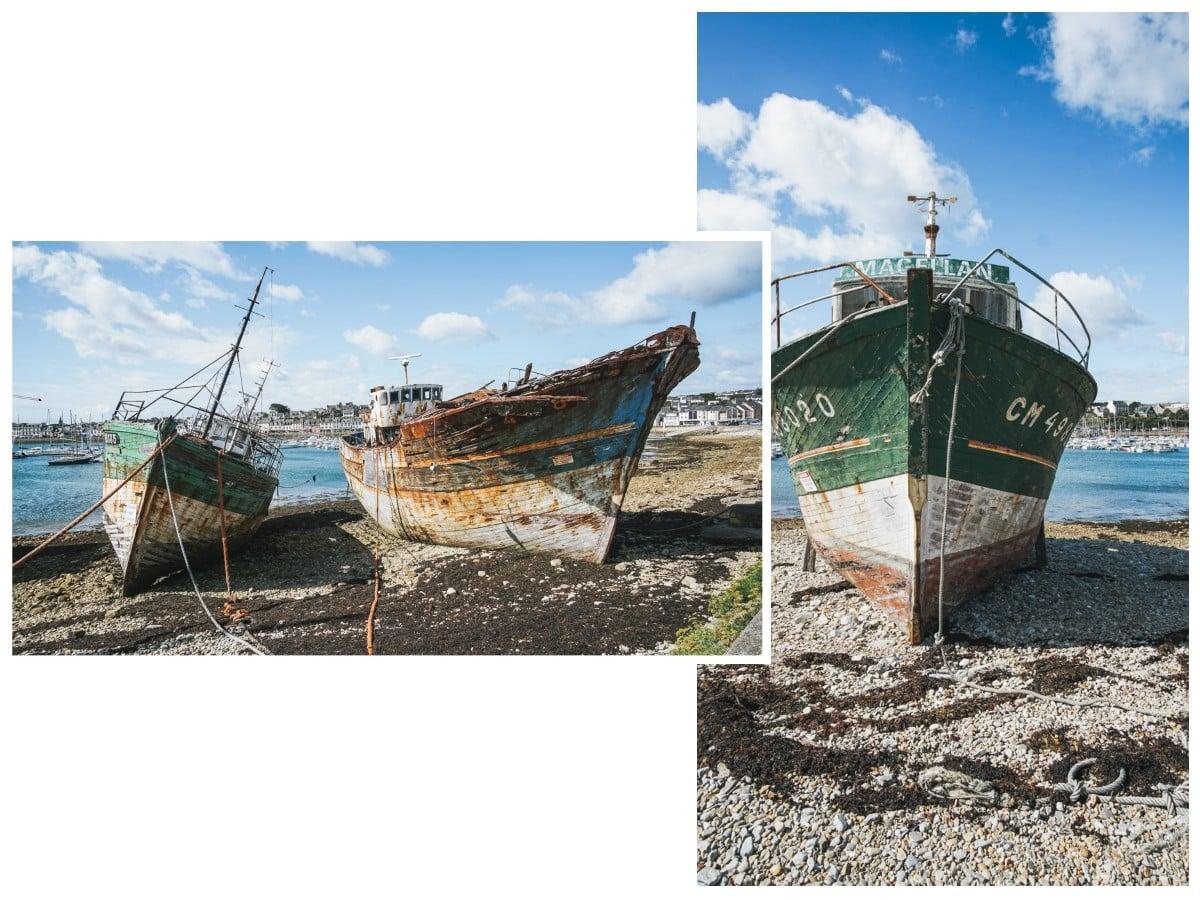 bateaux épave crozon