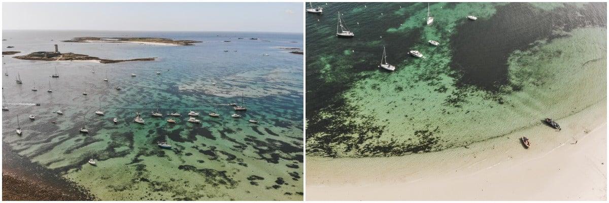 plage île glénan finistère