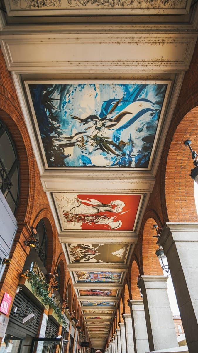 arcades peintures toulouse