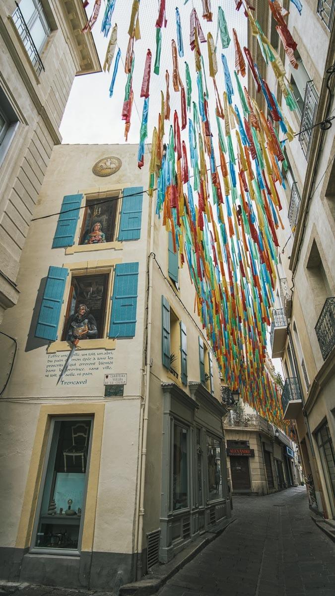 rue décoration graff béziers