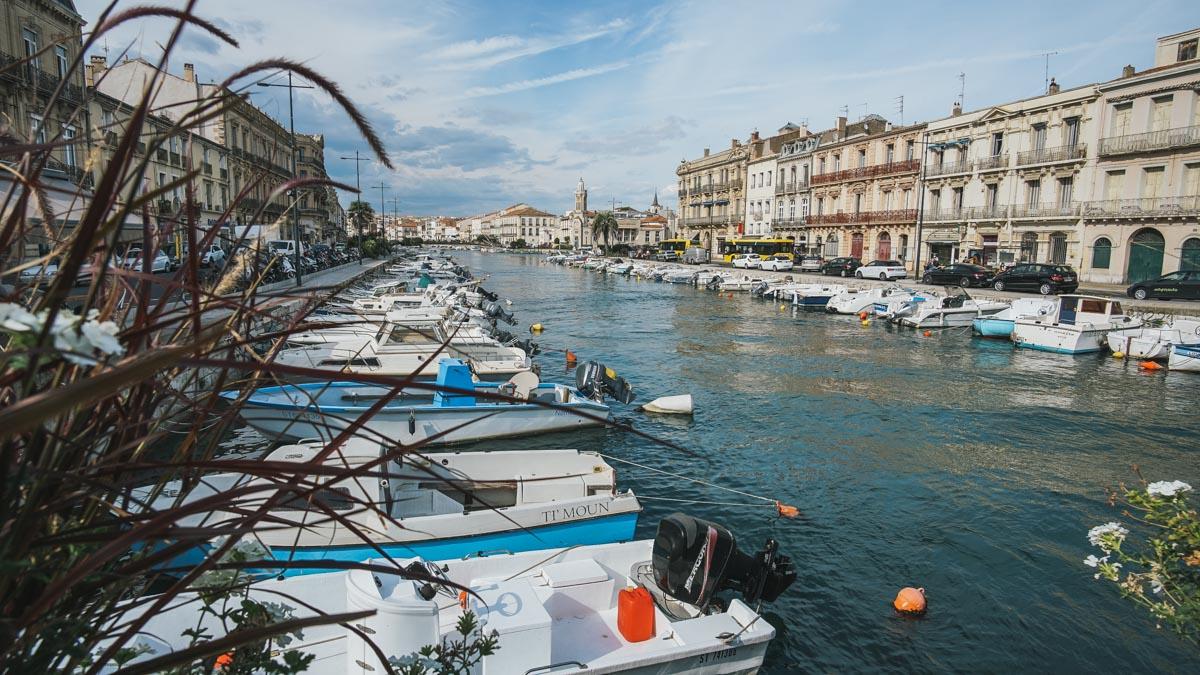 sète port bateaux