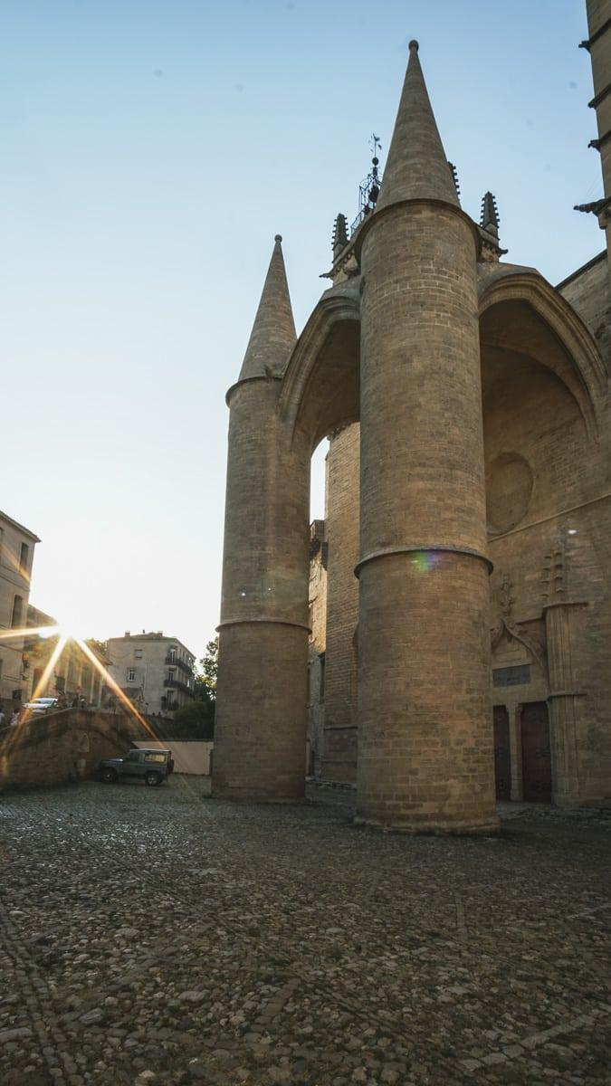 cathédrale soleil montpellier