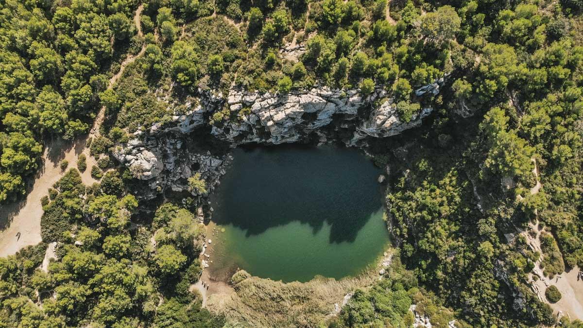 gouffre drone bassin