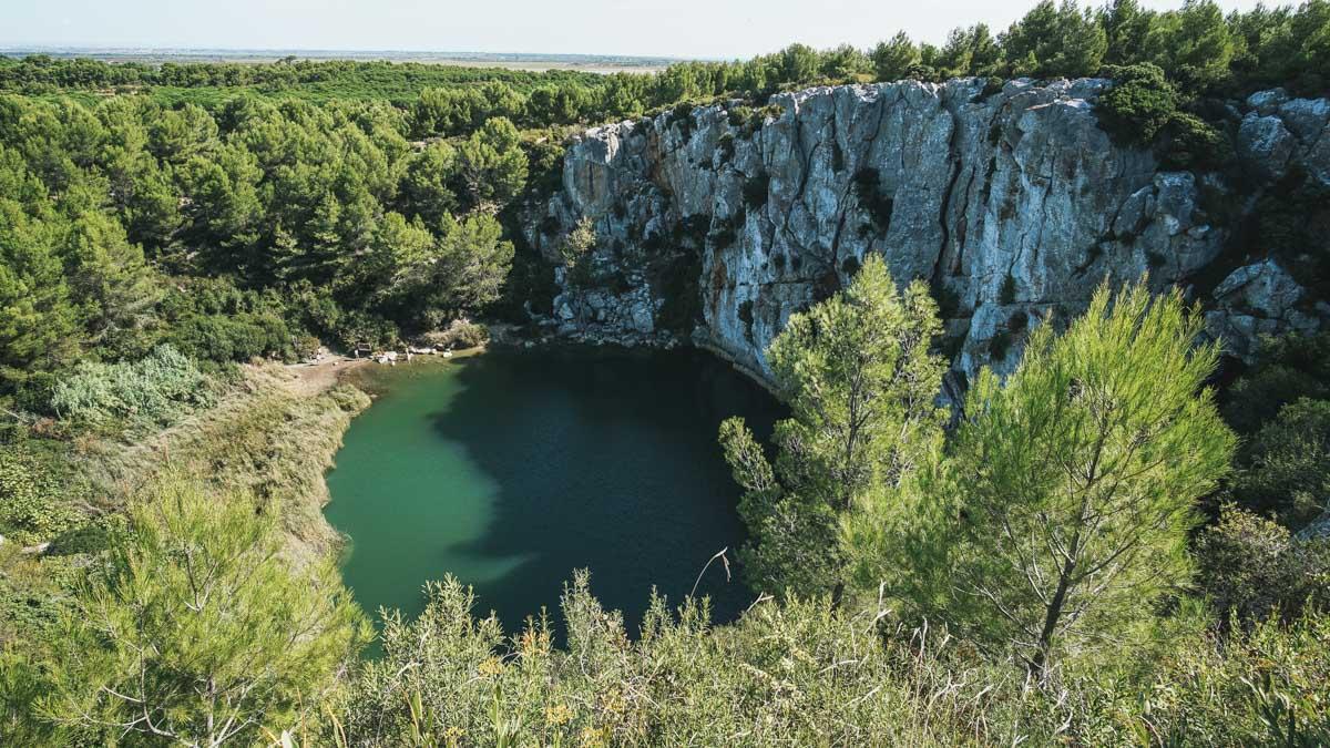 gouffre bassin nature