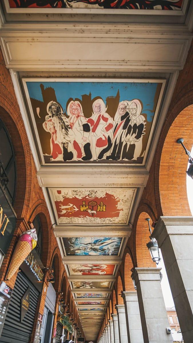 peinture arcade toulouse