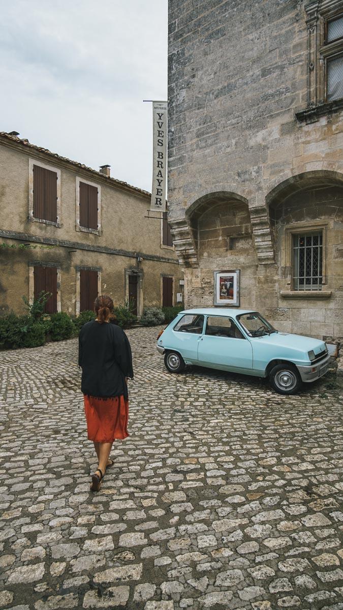 carole voiture baux de provence