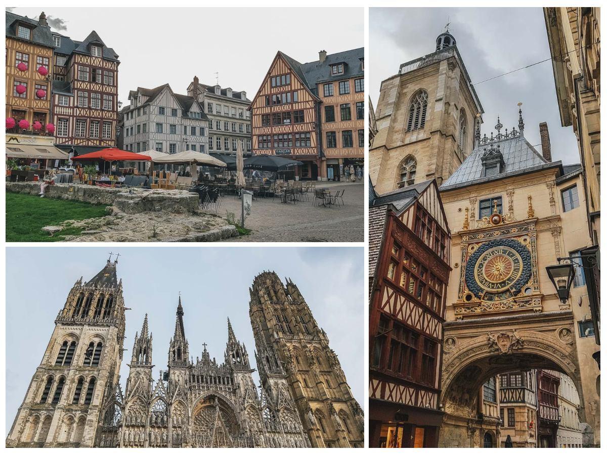 rouen cathédrale place