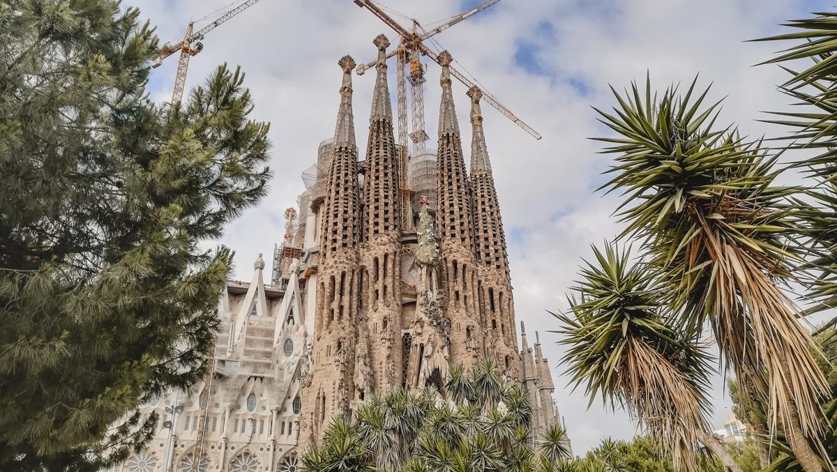 sagrada cathédrale barcelone