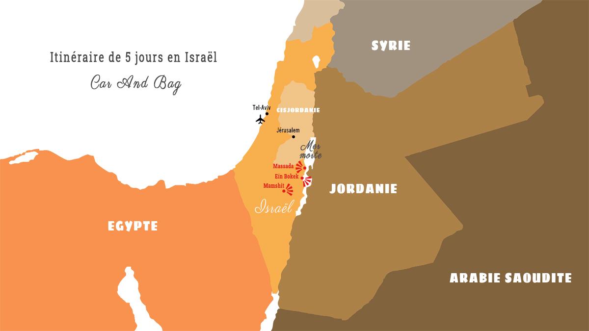 israël carte