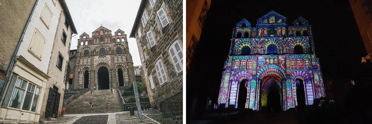 cathédrale spectacle lumière