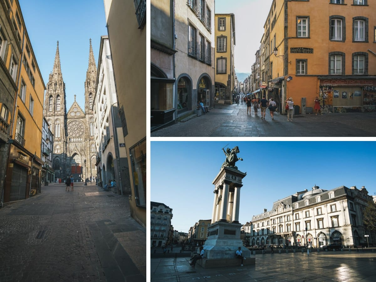 clermont ferrand rues place