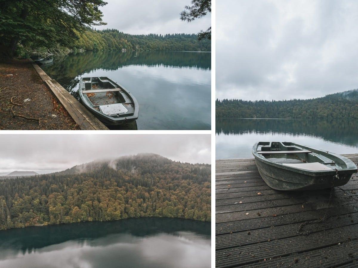 lac bateau