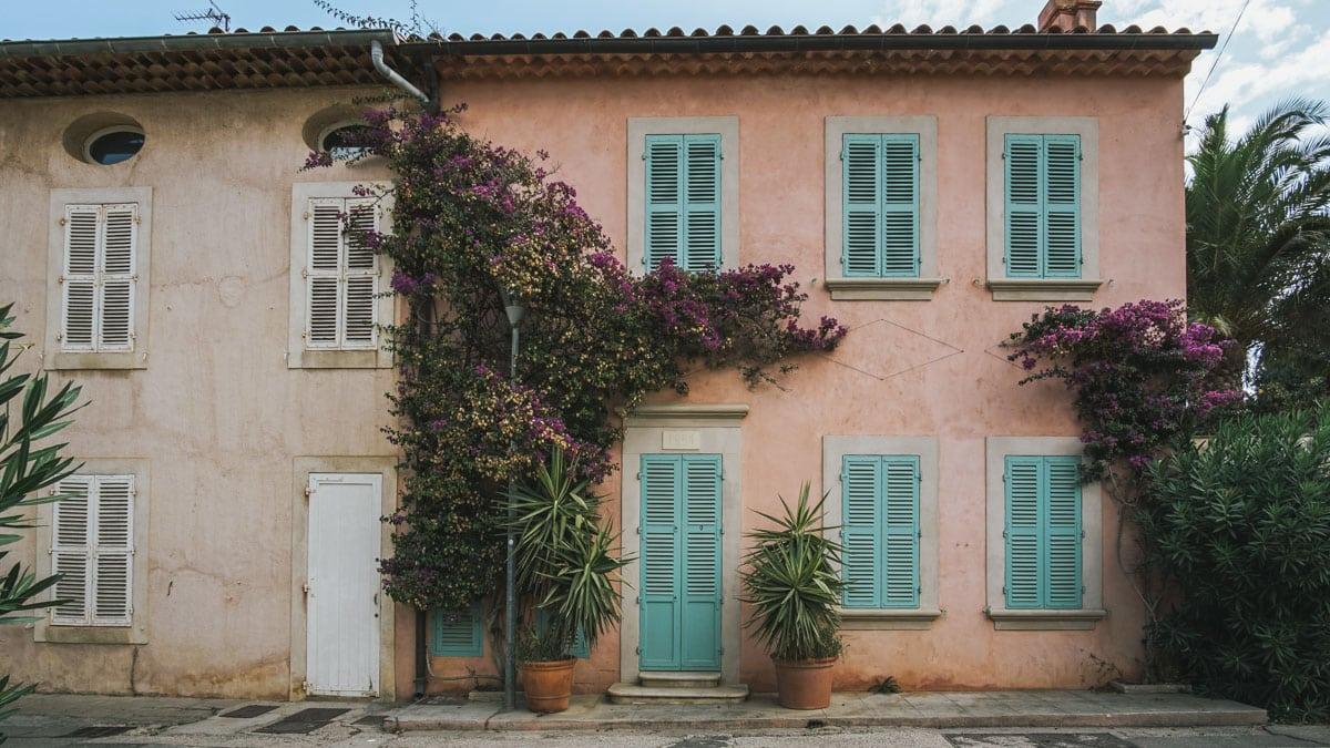 maison fleurs
