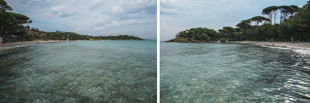 mer plage porquerolles