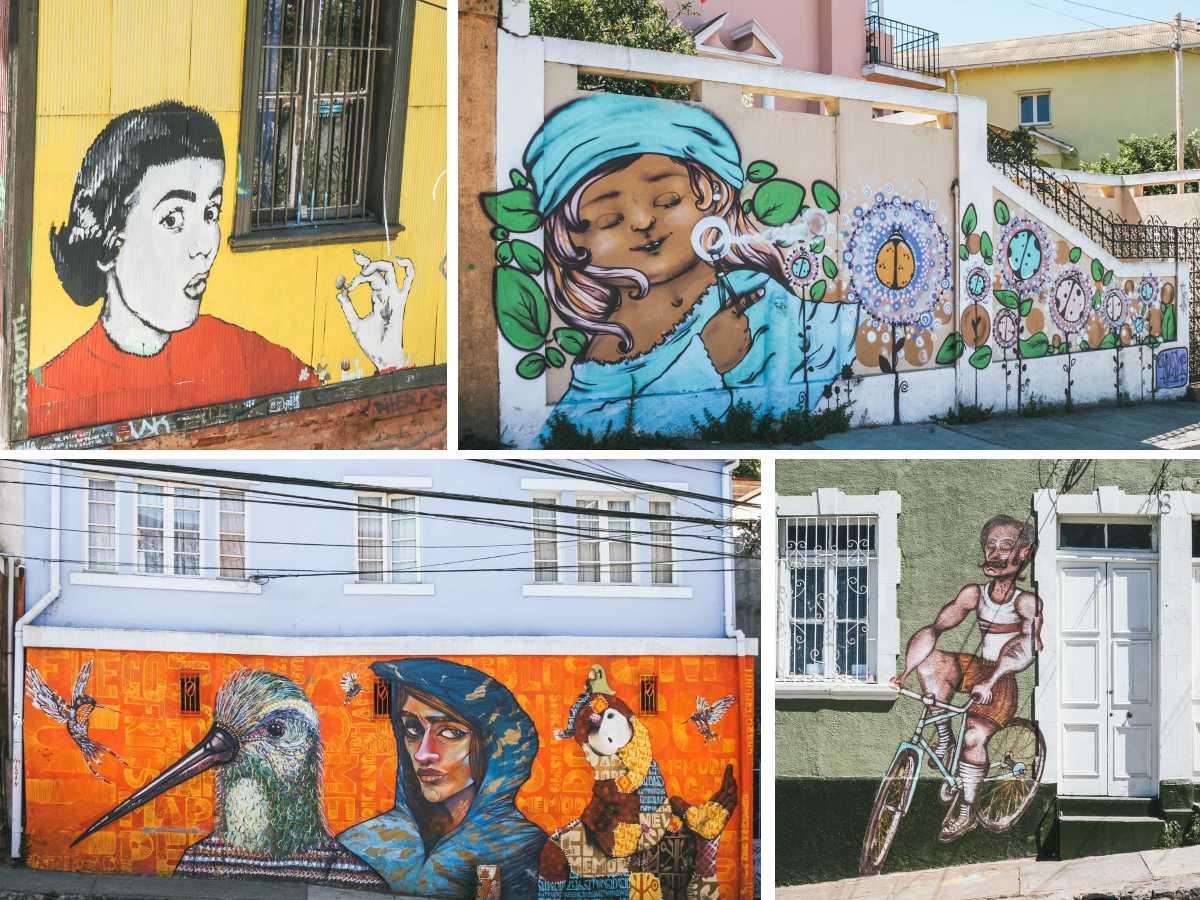 graff cerros dessins valparaiso