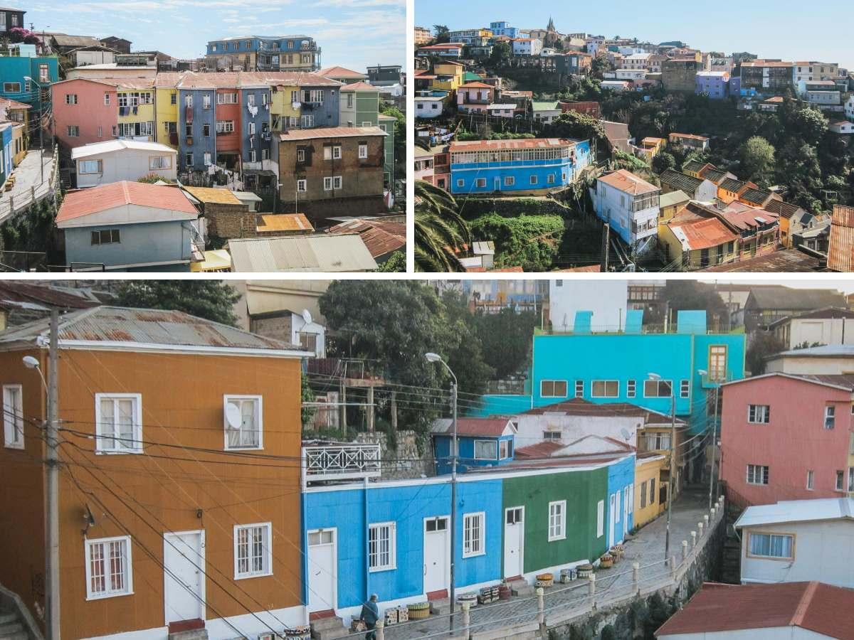 collines maisons valparaiso