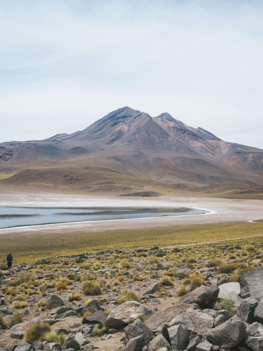chili lagune volcan