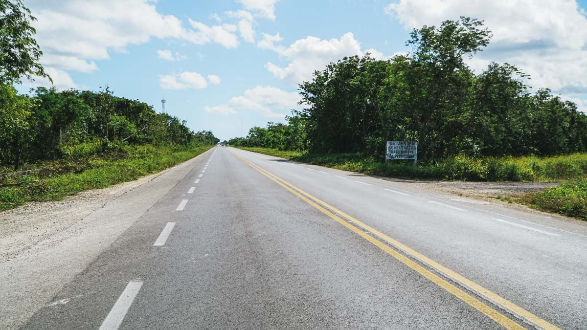 route mexique yucatan
