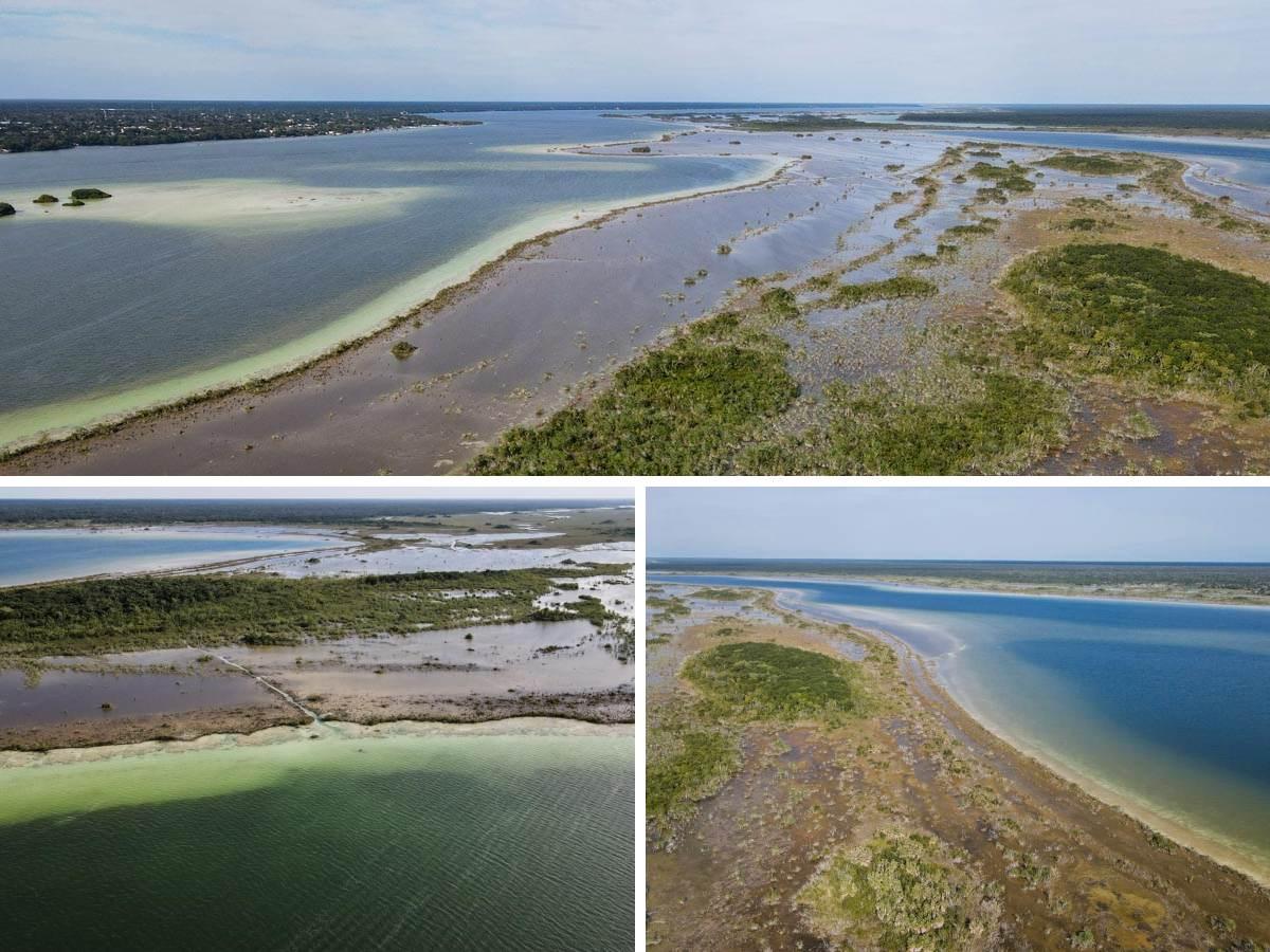 bacalar lagune eau