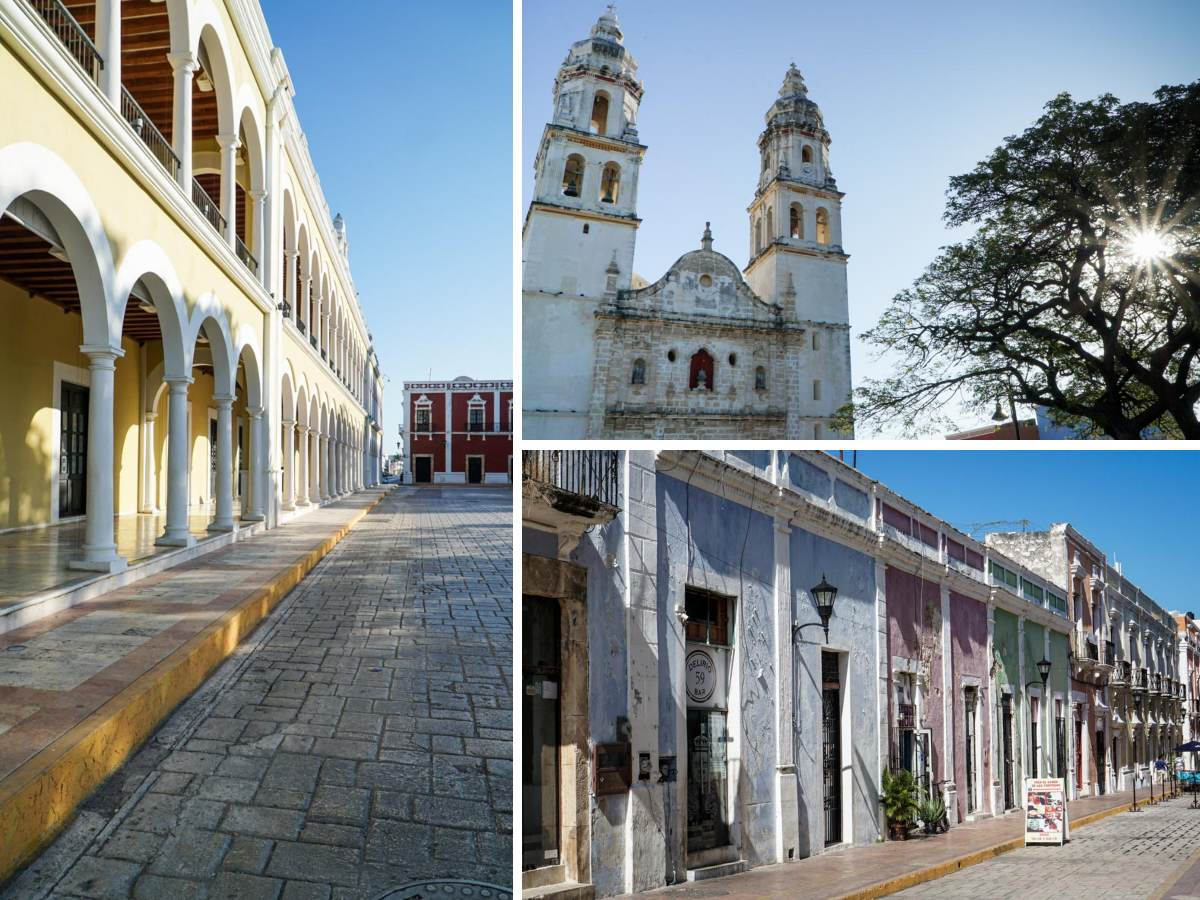 cathédrale campeche yucatan