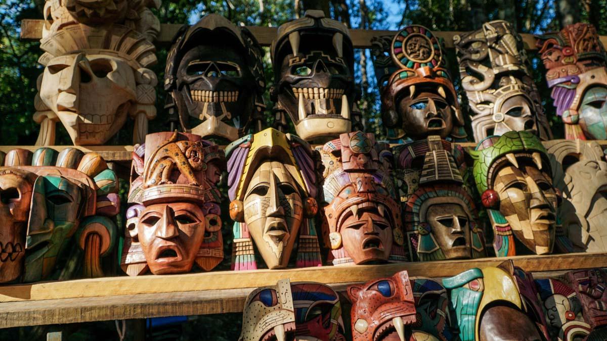 masques bois