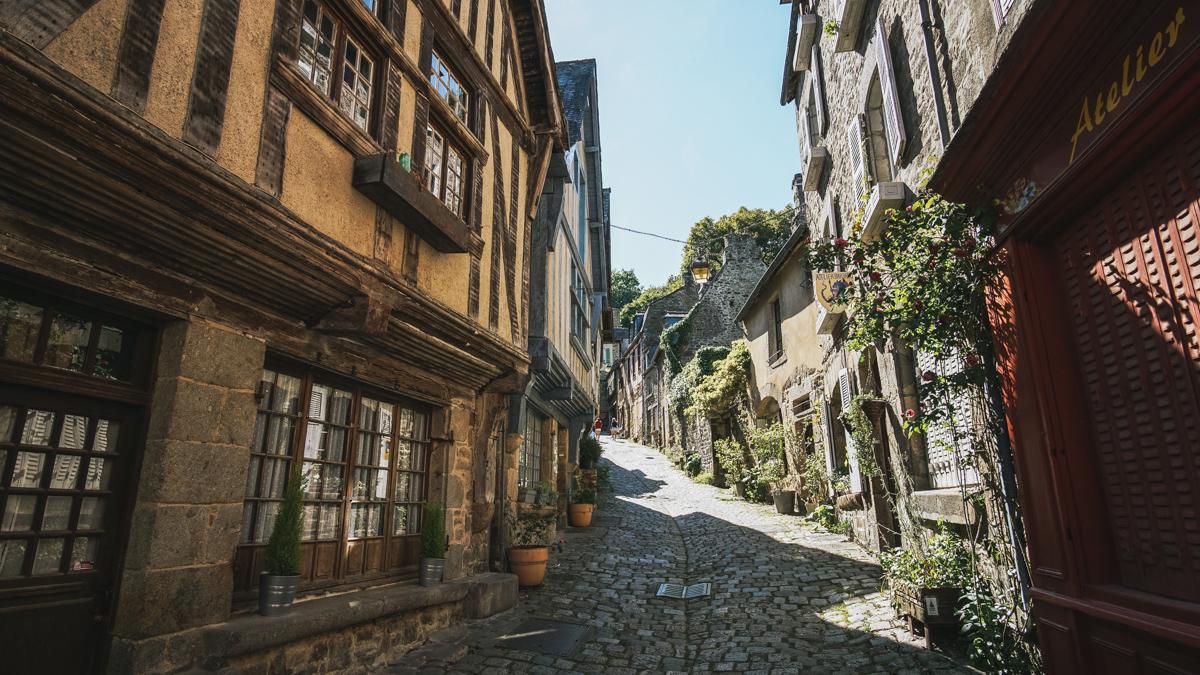 rue maisons dinan