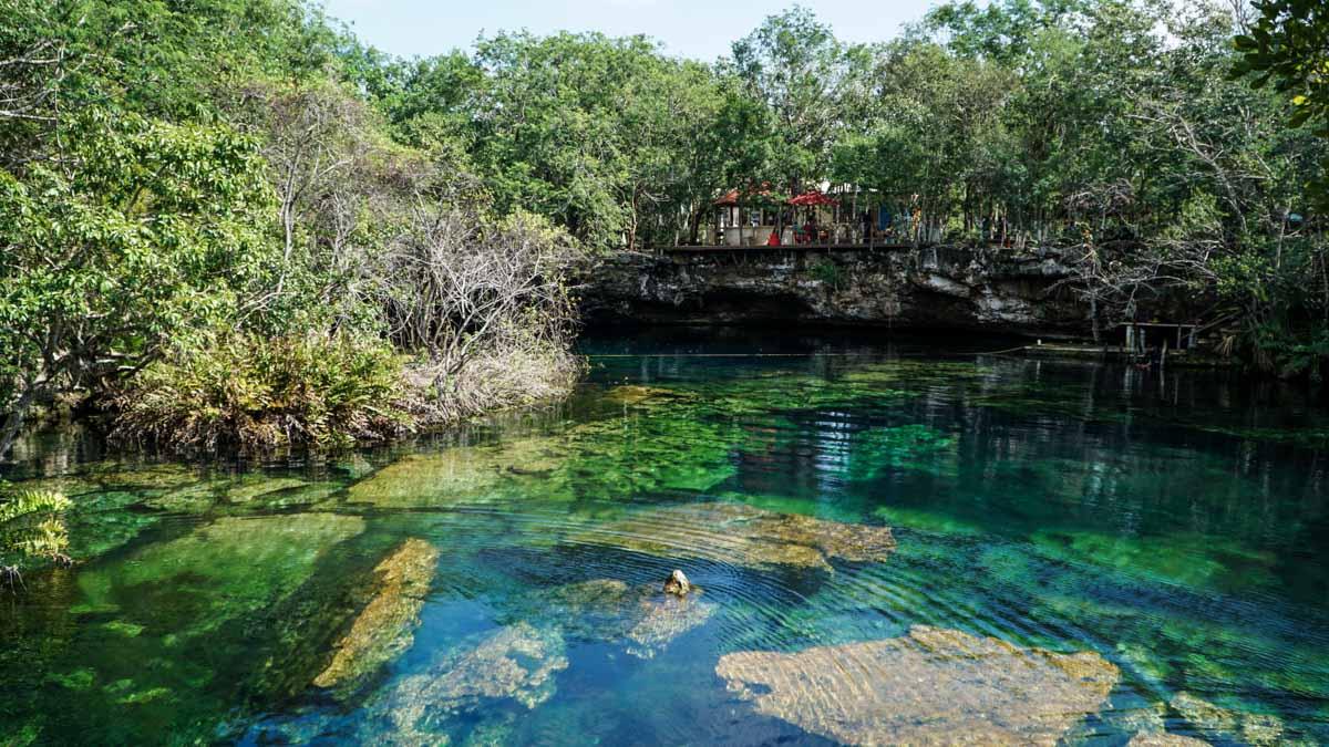 bassin eau cénote
