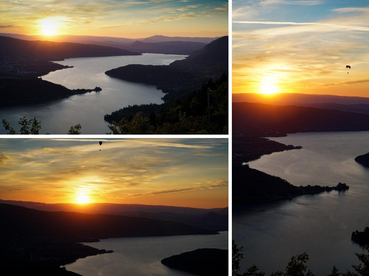 sunset lac