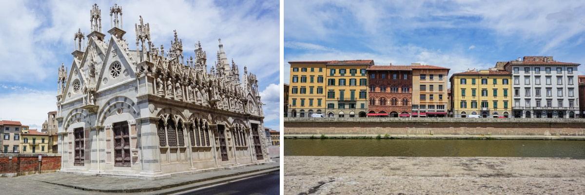 fleuve italie église
